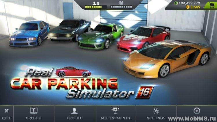 Игра Real Car Parking Simulator Pro для Android