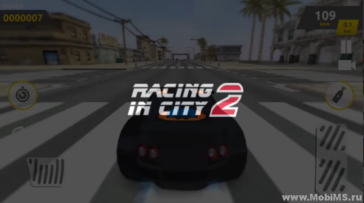 Игра Racing in City 2 для Android
