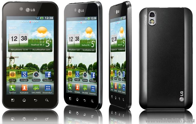 Прошивка для LG Optimus Black LG P-970