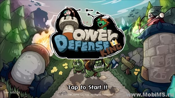 Игра Tower Defense King (Башня обороны король) для Android