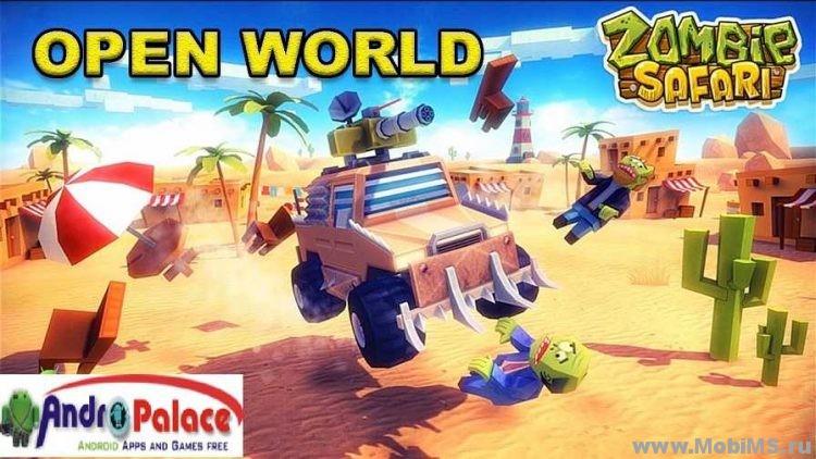 Игра Zombie Offroad Safari для Android