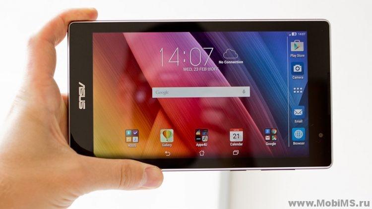 Прошивка для планшета ASUS ZenPad C 7.0 P01Y (Z170CG) через sd карту