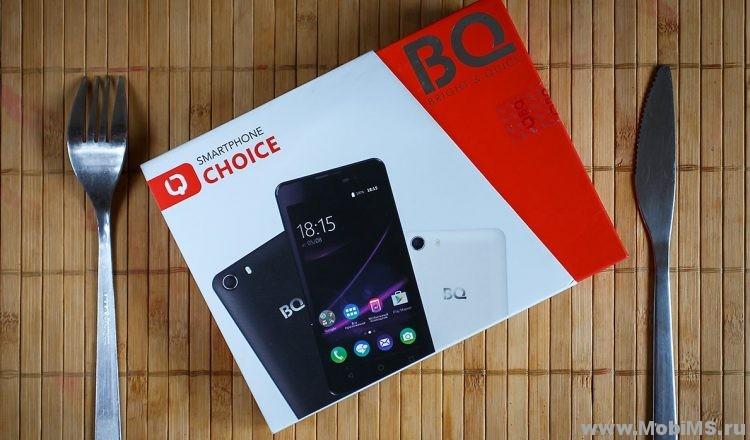 Прошивка для BQ Mobile BQS-5065 Choice