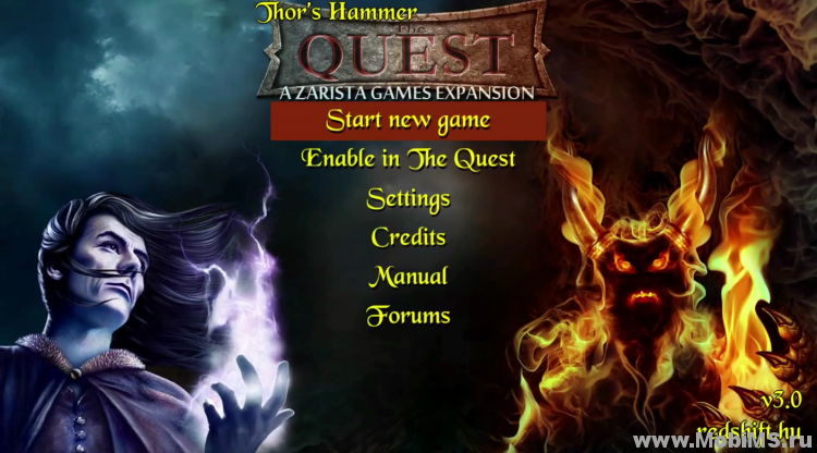 Игра The Quest - Thor's Hammer для Android