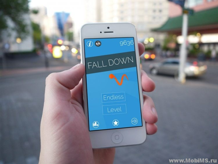 Игра Fall Down для Android