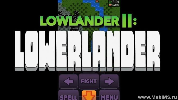 Игра Lowlander II: Lowerlander для Android