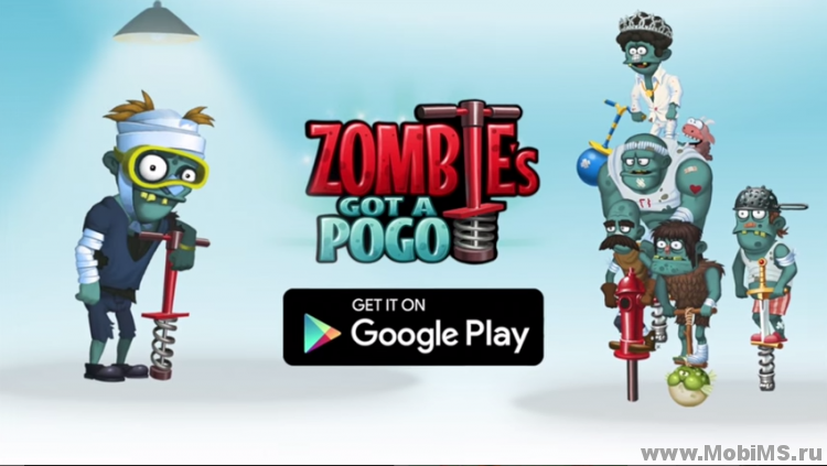Игра Zombie's Got a Pogo для Android