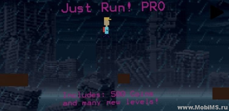 Игра Just Run! PRO для Android