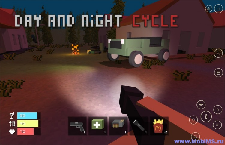 Игра Five nights at Craft Lands для Android