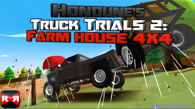 Игра Truck Trials 2: Farm House 4x4 + Мод на валюту для Android